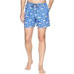 "Harborside Swim 5"" Trunk Vivid Blue Gamefish Flags"