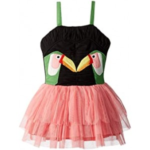 Toucan Patch Dress with Detachable Wings (Toddler/Little Kids/Big Kids)