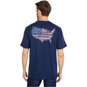 Short Sleeve USA Pocket T-Shirt