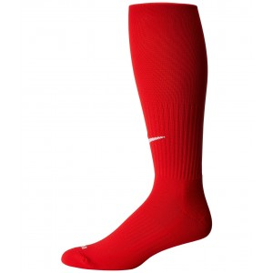 Classic II Cushion Over-the-Calf Socks University Red/White