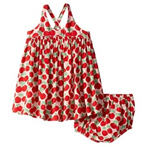 Cherry Dress and Bloomer Set (Infant)