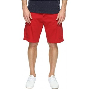 Carrier Cargo Shorts Scooter Red Twill