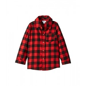 Buffalo Check Button Down Long Sleeve Shirt (Infant/Toddler)