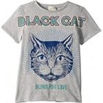 Black Cat T-Shirt (Little Kids/Big Kids)