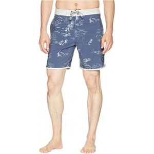 Stormin The Sea Boardshorts Blue