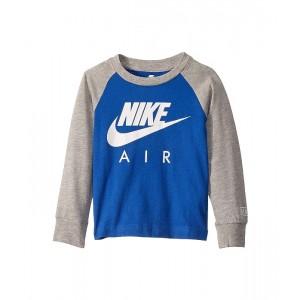 Nike Kids Nike Air Logo Graphic Long Sleeve Raglan T-Shirt (Toddler) Game Royal