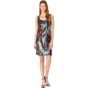 Rainbow Sequin Sheath Dress CD8E14UX Multi