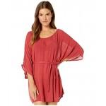 Roxy Loia Bay Dress Cover-Up Deep Claret