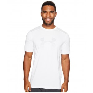 UA Raid Graphic Short Sleeve White/Overcast Gray