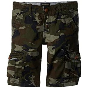 Crucial Battle Cargo Shorts (Big Kids) Camo Print Crucial Battle