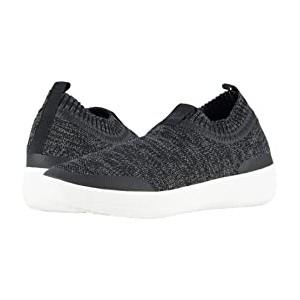Uberknit Slip-On Sneakers Black/Soft Grey
