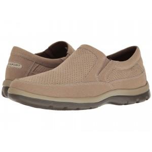 Get Your Kicks Perfed Slip-On Greige