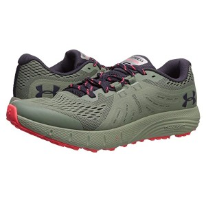Under Armour Charged Bandit Trail Willow Green/Nocturne Purple/Nocturne Purple