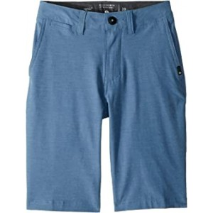 Union Heather Amphibian Shorts (Big Kids) Bijou Blue