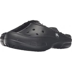 Crocs Freesail Plush Lined Clog Black/Black
