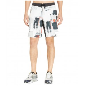 Epic Cordlock Shorts - Digital CrossFit White