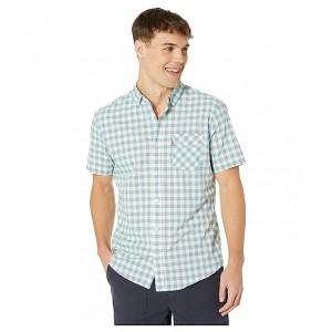Chester Short Sleeve Woven Shirt Marshmallow
