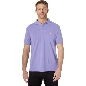 Custom Slim Fit Mesh Polo Purple 2