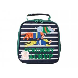 Munch Bag (Big Kids) Navy Jungle Scrum