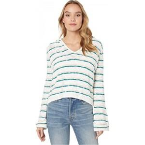 Sun Express Hooded Sweater Everglade Bali Stripes Horizon