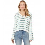 Roxy Sun Express Hooded Sweater Everglade Bali Stripes Horizon