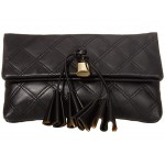 Sofia Loves The Leather Clutch Black