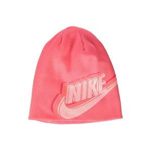 Nike Kids Reversible Beanie (Youth) Pine Nebula/White