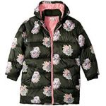 Flower Print Puffer Coat (Little Kids/Big Kids)