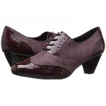 Gianna Bordeaux Faux Tweed/Patent