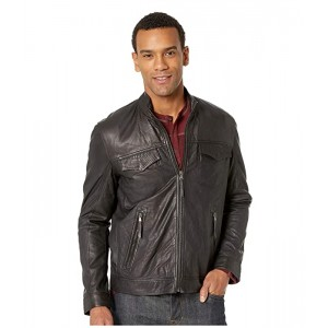 Stetson 2100 Smooth Leather Jacket Black