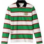 Guccified Long Sleeve Polo (Little Kids/Big Kids)