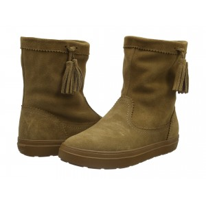 LodgePoint Suede Pull-On Boot Hazelnut