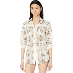 Brigitte Printed Beach Tunic Cover-Up