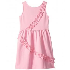 Sleeveless Ruffle Dress (Toddler/Little Kids/Big Kids) Pink