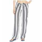 Kellen Printed Beach Pants Cover-Up Bold Awning Stripe