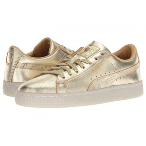 Suede 50th Gold (Big Kid) Gold