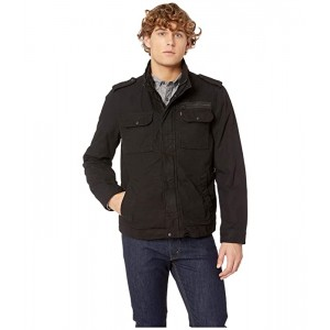 Levis Two-Pocket Military Jacket with Polytwill Lining Black