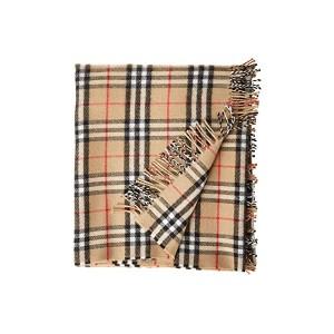 110X98 Vintage Check Merino Baby Blanket