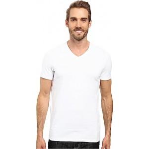 Slim-Fit V-Neck T-Shirt White