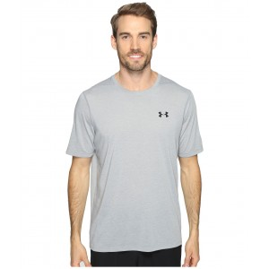UA Threadborne Short Sleeve True Gray Heather