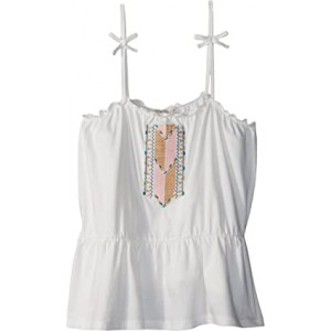 Sweet Summer Strappy Top (Big Kids) Marshmallow