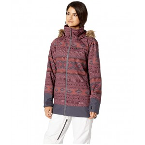 Lelah Jacket Port Royal Freya Weave/Trocadero