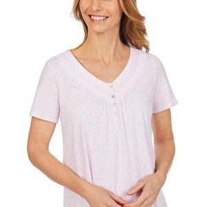 Soft Jersey Short Sleeve Sleepshirt