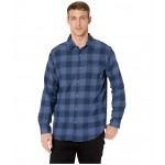 Boulder Ridge Long Sleeve Flannel Dark Mountain Ombre