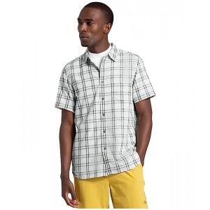 The North Face Short Sleeve Hammetts Shirt II Tin Grey Check Plaid