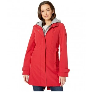 34 Softshell w/ Sweatshirt Hoodie Insert Crimson