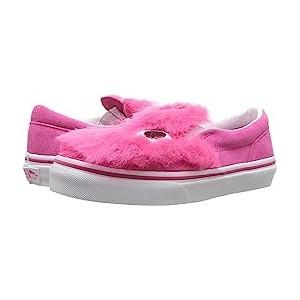 Party Fur Slip-On Friend (Little Kid/Big Kid) (Party Fur) Magenta/True White