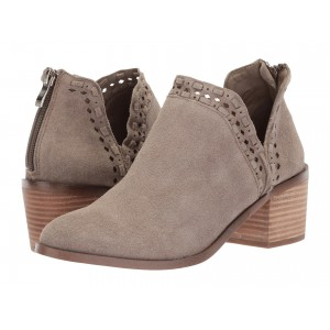 Java Bootie Taupe Suede