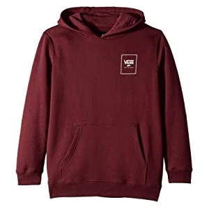 Print Box Back Pullover Fleece (Big Kids)