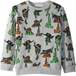 Biz Snail Printed Fleece Sweater (Toddler/Little Kids/Big Kids)